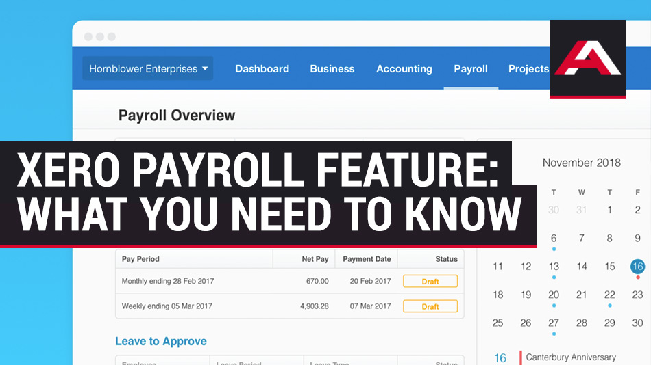 xero payroll feature