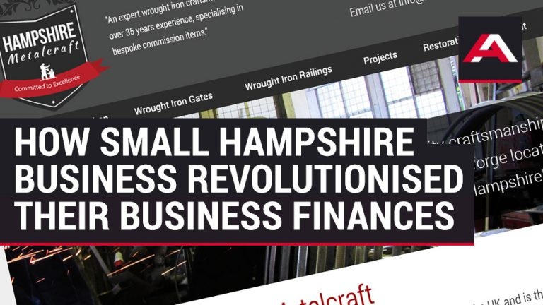 How Small Hampshire Business Revolutionised their Business Finances