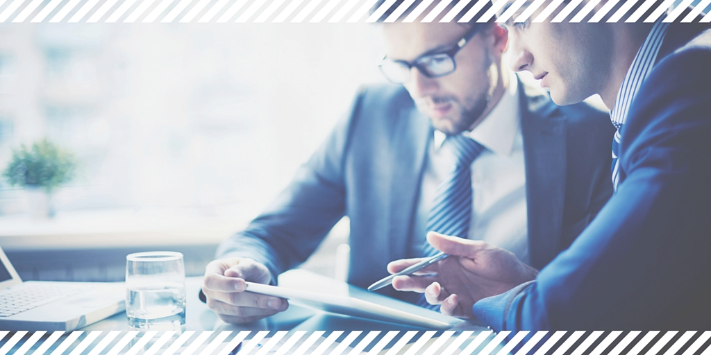 Accountant providing business advice