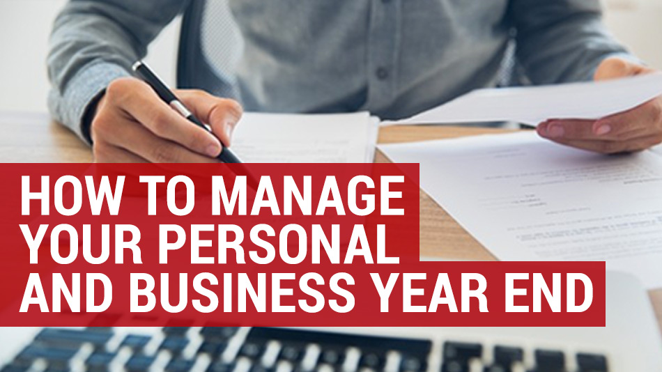 how to manage business and personal year end