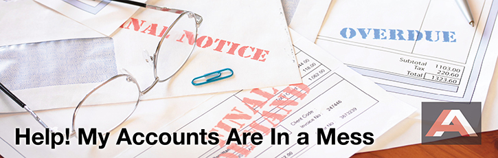 Help! My Accounts Are In a Mess - how to overcome an accounting disaster