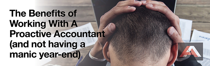 The Benefits of Working With a Proactive Accountant