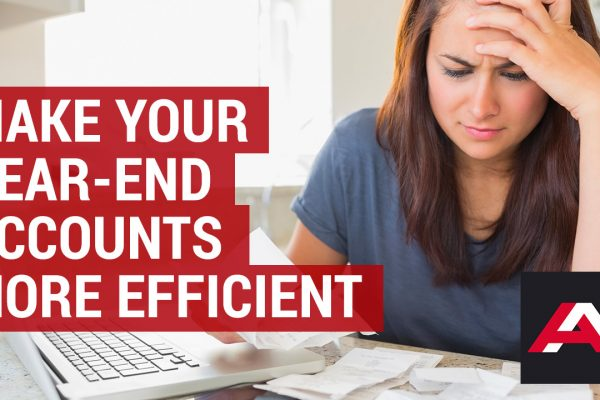 how to make your year end accounts more efficient