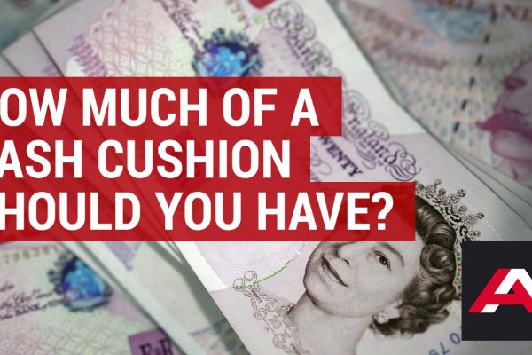 how much of a cash cushion should have