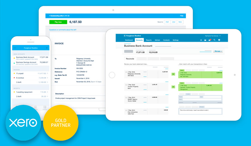 xero gold partner certified accountants london