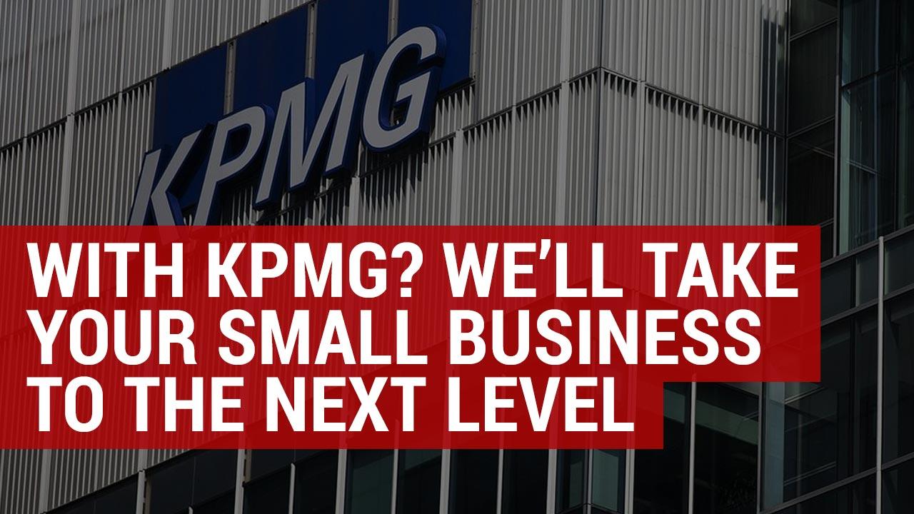 KPMG small business accounting closure