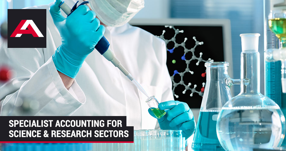 accounting for science and research departments