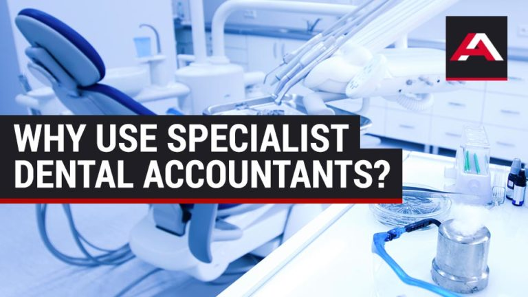 why use specialist dental accountants